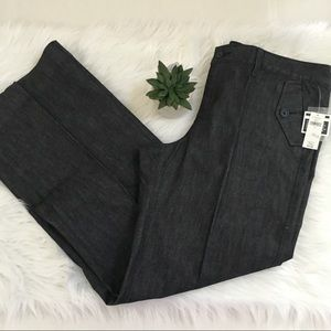NWT Gap Trouser Dark Denim Jeans Sz 16